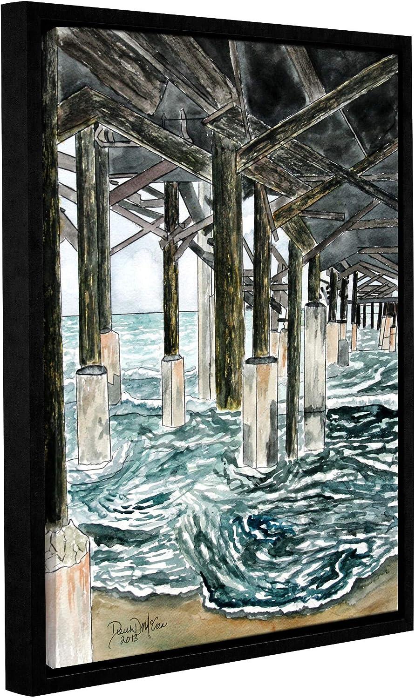 Amazon.com ArtWall Derek McCrea's 'Cocoa Beach Pier Seascape ...