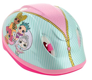 LOL Surprise - Casco de Seguridad para niña, Color Rosa, 48 - 54 ...