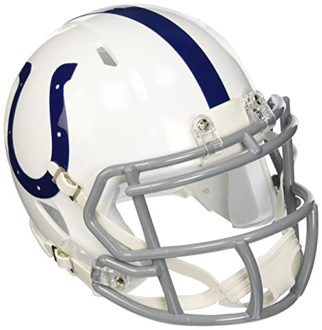 08ec1e2c6 Amazon.com   NFL Indianapolis Colts Revolution Speed Mini Helmet ...