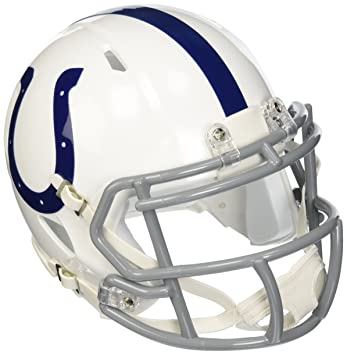 1a73d326ea3 Riddell NFL Indianapolis Colts Revolution Speed Mini Helmet  Amazon ...