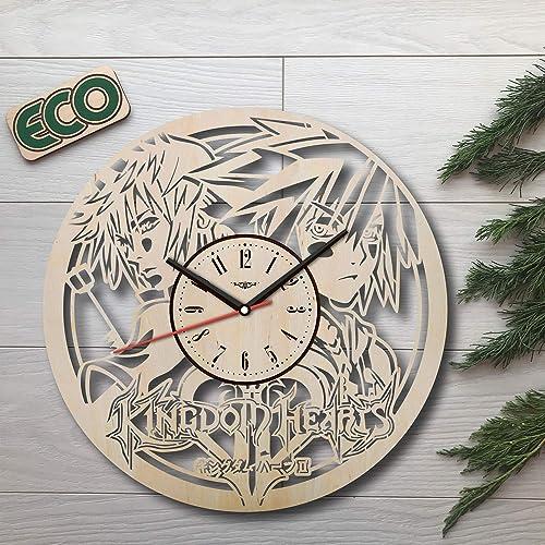 KovalStudio Kingdom Hearts Wall Clock