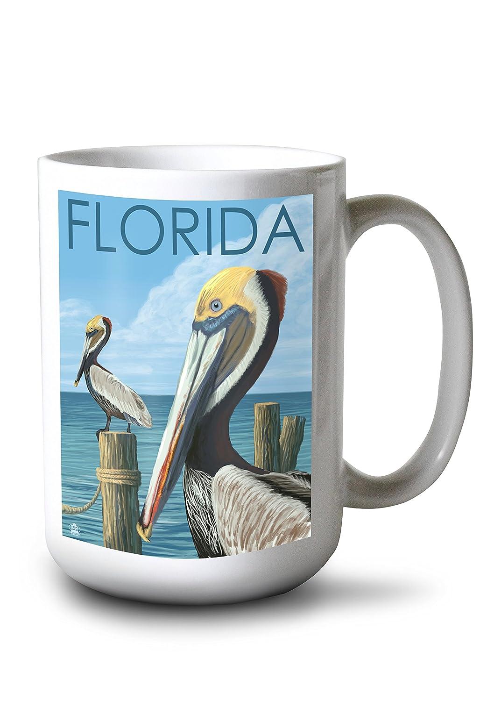 2019年最新海外 ブラウンPelicans – フロリダ州 24 x 36 Mug 36 Giclee Print LANT-29295-24x36 15oz B077RQDGXL 15oz Mug 15oz Mug, 国頭村:3192754b --- turtleskin-eu.access.secure-ssl-servers.info