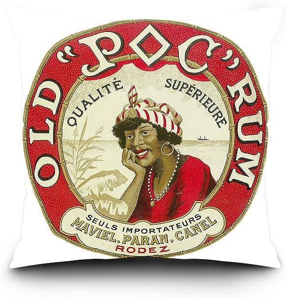 Old POC Ron qualite Superieure – Marca etiqueta de Ron ...