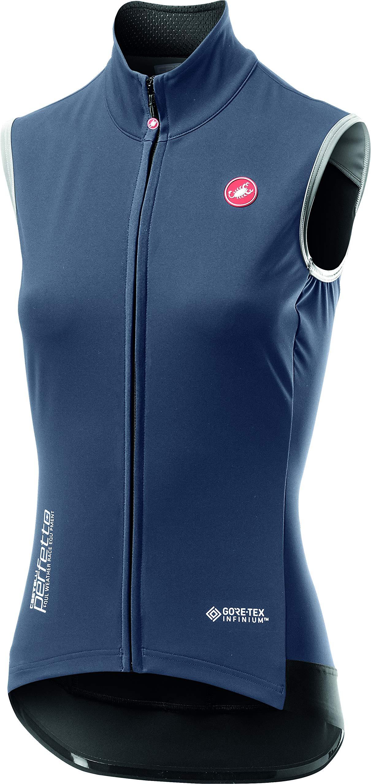 Castelli Perfetto ROS Vest - Women's Dark Steel Blue, S by Castelli