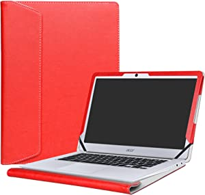 "Alapmk Protective Case Cover for 14"" Acer Chromebook 14 CB3-431 Series Laptop(Not fit ACER CHROMEBOOK 14 for Work CP5-471 Series),Red"