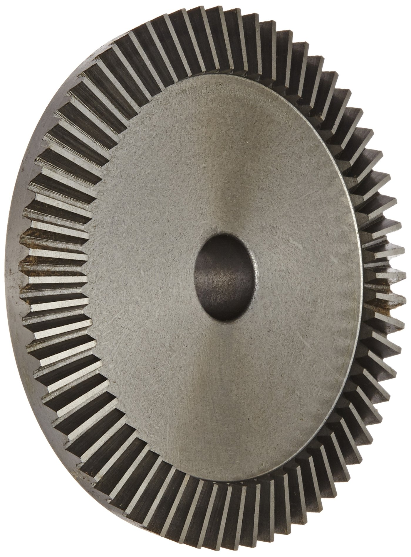Boston Gear PA4416Y-G Bevel Gear, 4:1 Ratio, 0.625'' Bore, 16 Pitch, 64 Teeth, 20 Degree Pressure Angle, Straight Bevel, Cast Iron