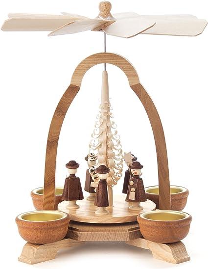 Spanbaum 25 cm Original Erzgebirge Handarbeit NEU aus Seiffen