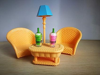 Amazon.com: JWRAC - Juego de accesorios y muebles para ...