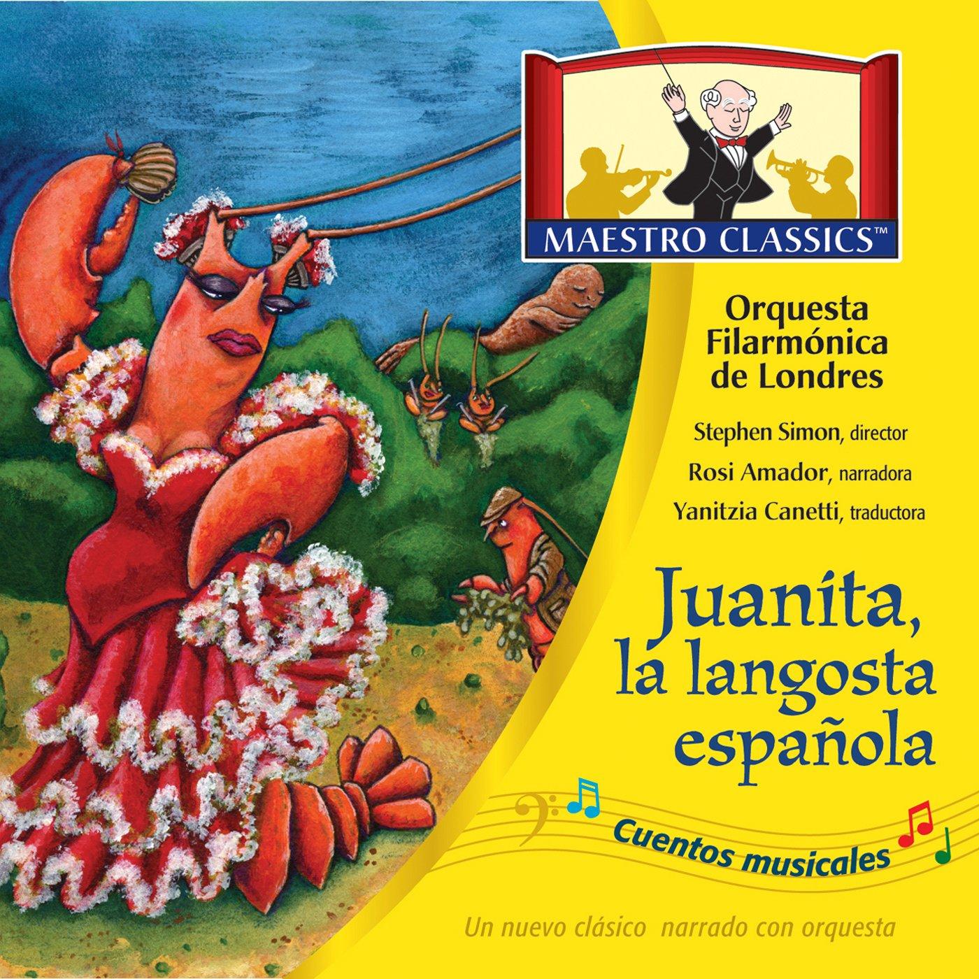 Juanita, la langosta espanola