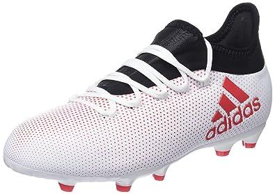 buy popular 00ece 05f05 adidas Unisex-Kinder X 17.1 FG Fußballschuhe, Grau (GreyReacorCblack