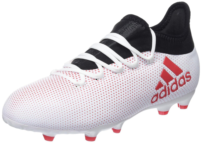 gris (gris Reacor Cnoir) adidas X 17.1 FG, Chaussures de Football Mixte Enfant 33 EU