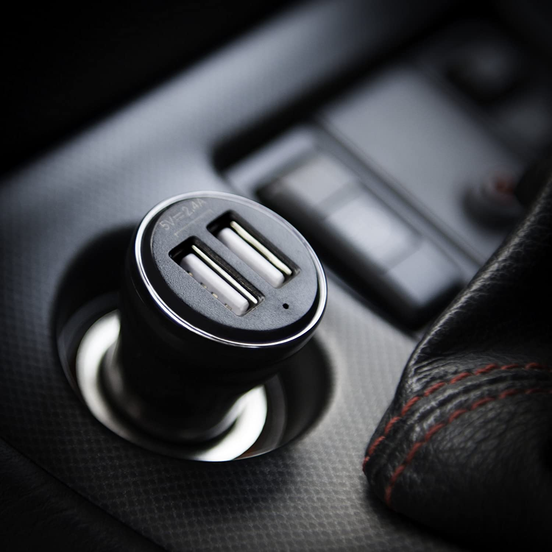 Keple Auto Ladeger/ät Tomtom Start 25 M//XL Model 4et03GPS Fahrzeug Sat NAV Navigationssystem 3ft Mini USB Rechter Winkel Datentransfer Ladekabel Dual Port USB 2.4 A 12v