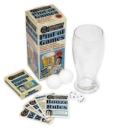 Paladone Juegos De Mesa Para Beber Con Vaso De Pinta Amazon Es Hogar
