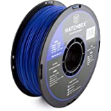 HATCHBOX 3D ABS-1KG1.75-BLU ABS 3D Printer Filament, Dimensional Accuracy +/- 0.05 mm, 1 kg Spool, 1.75 mm, Blue