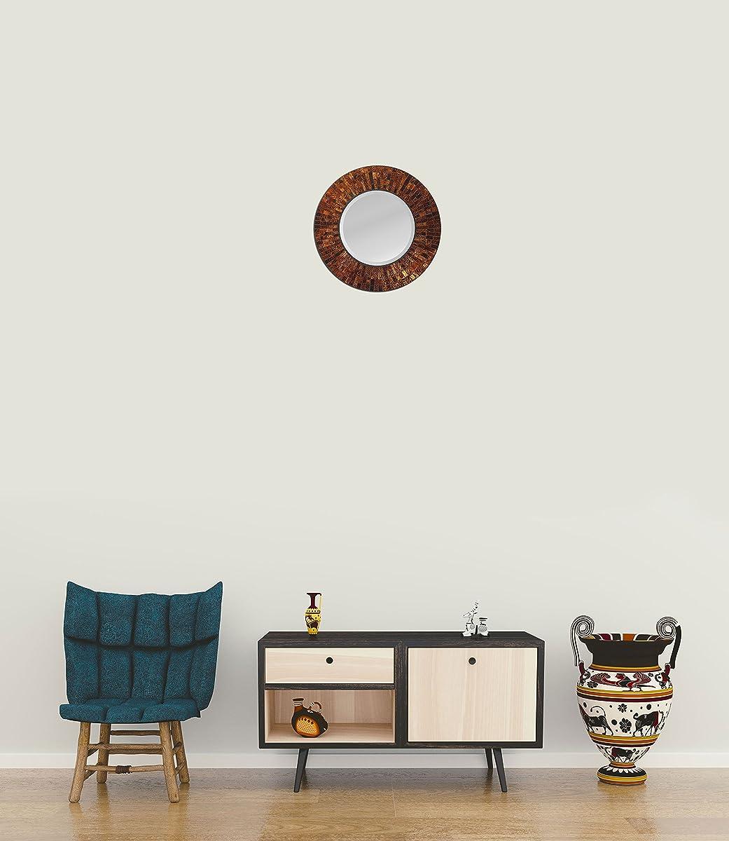 LuLu Decor, Baltic Amber Mosaic Wall Mirror (LP72M)