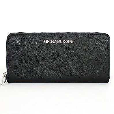 73aa4f584e94f5 Image Unavailable. Image not available for. Color: Michael Kors Jet Set  Travel Zip Around Continental Wallet ...
