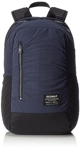 ECOALF Makalu Backpack, Mochila Unisex Adulto, Azul (Deep Navy) 18x45x27 cm (W x H x L): Amazon.es: Zapatos y complementos