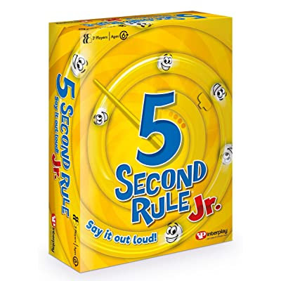 5 Second Rule Junior, Card Game GF002: Toys & Games