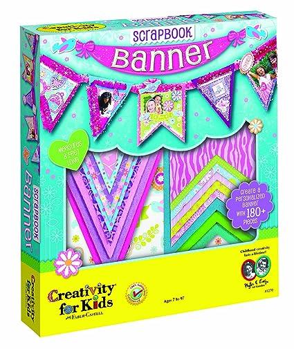 Amazon Creativity For Kids Scrapbook Banner Toys Games
