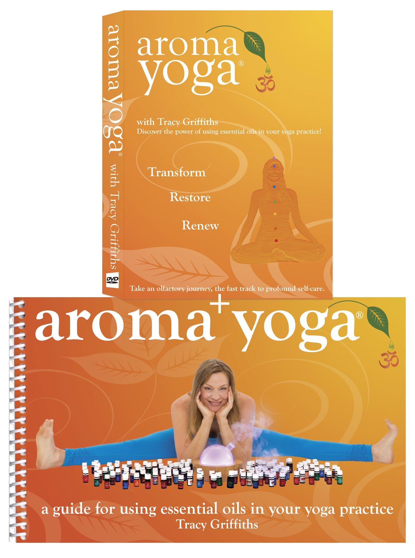 Read Online Aroma Yoga Book + DVD Bundle PDF