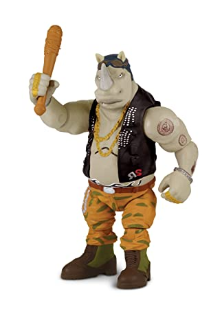 Las Tortugas Ninja 2 - Hablar Deluxe Figura - Rocksteady ...