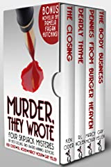 Murder, They Wrote: Four SkipJack Mysteries Kindle Edition
