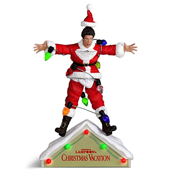 Review Hallmark Keepsake Christmas Ornament 2018 Year Dated, National Lampoons Christmas Vacation A Fun, Old-Fashioned Family Christmas With Sound and Light