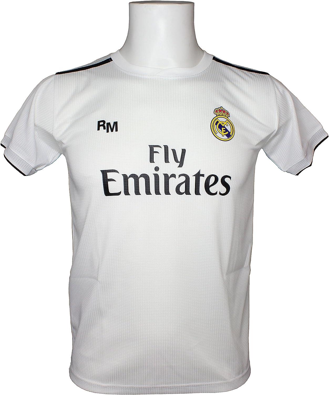 Real Madrid FC Camiseta Adulto Replica Oficial Primera Equipación ...