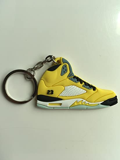 special section preview of where to buy Amazon.com : Jordan Retro 5 Tokyo Sneaker Keychain Shoes ...
