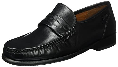 Mens Cabaco Moccasins, Black Sioux