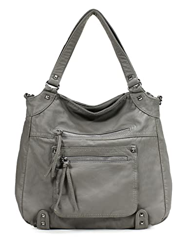 Scarleton Soft Washed Front Multi Pocket Shoulder Bag H178324 ...