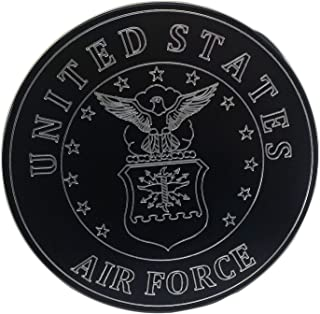 product image for HMC Billet United States Air Force Aluminum Laser Engraved Trailer Hitch Cover