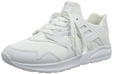 6732a8be801ee Fila Men s Fleetwood Low Low-Top Sneakers White Size  40  Amazon.co ...
