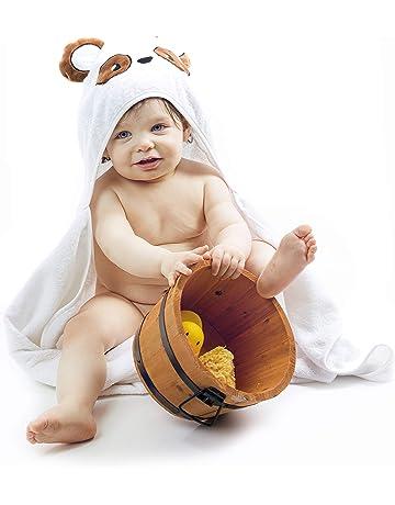 7daf8940b74e2 Serviette de Bain Extra-Douce Enfant Bébé Garçon de 0 à 2 ANS Peignoir  Enfant