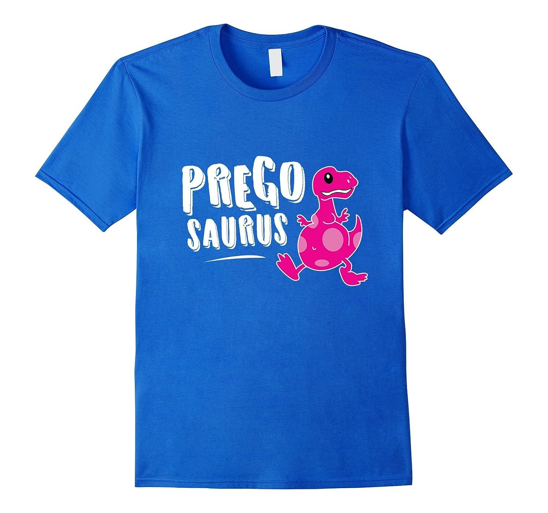 e0dd5af34708b Pregosaurus Pregnant T-Rex Dinosaur Cute Funny Pun Tee Shirt-RT ...