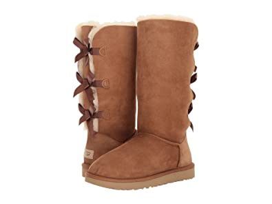 UGG Women's Bailey Bow Tall II Chestnut Boot