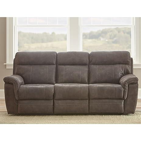 Greyson Living Reggio Microfiber Reclining Sofa By