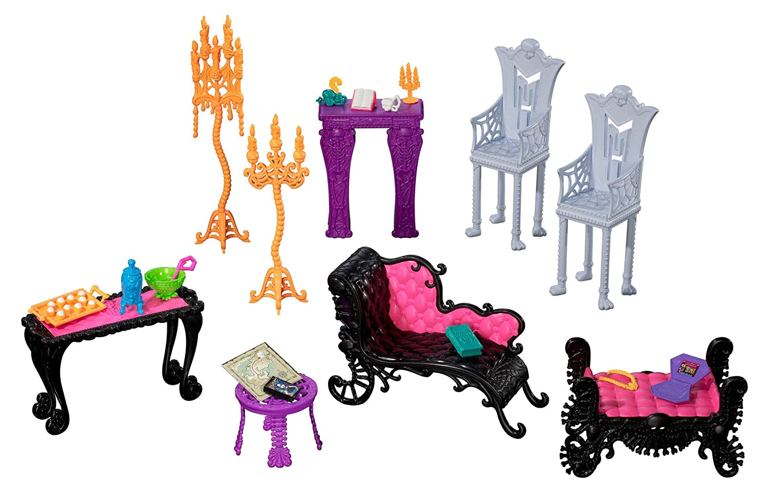 Monster High Freaky Fusion Catacombs Playset Mattel BJR18