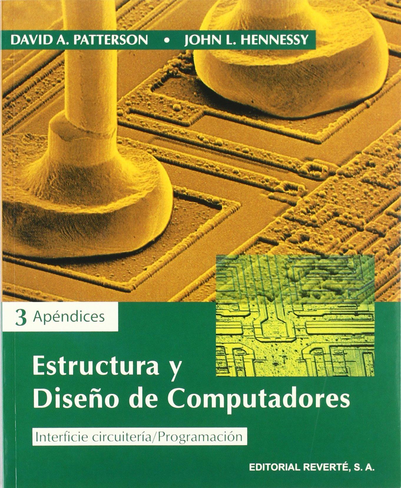 estructura y diseño de computadores patterson pdf descargar