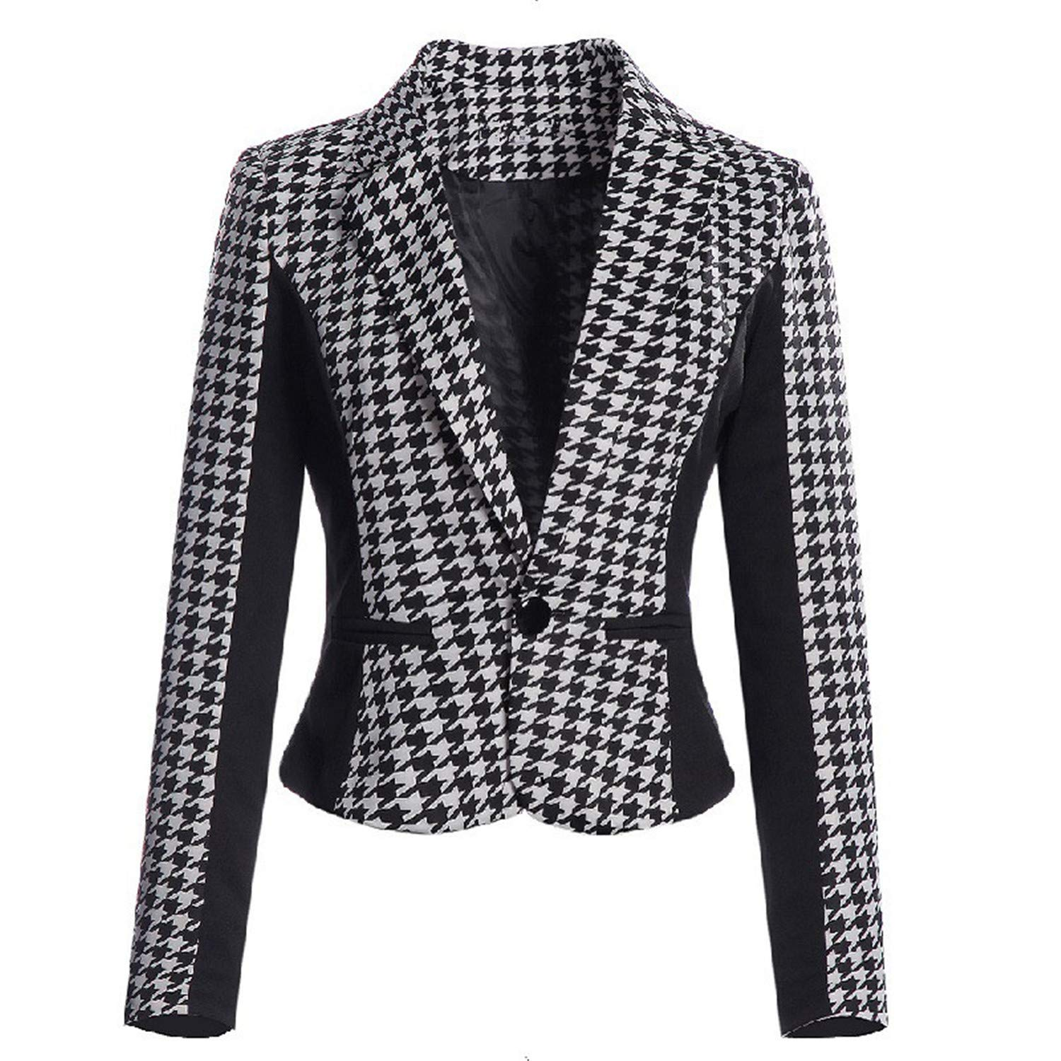 Gail Jonson womens blazers Autumn Female Casual Jacket Suit ...
