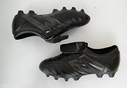 91107719a218d Manríquez Tacos Fútbol Soccer Mid SX Total Negro Piel  Amazon.com.mx ...