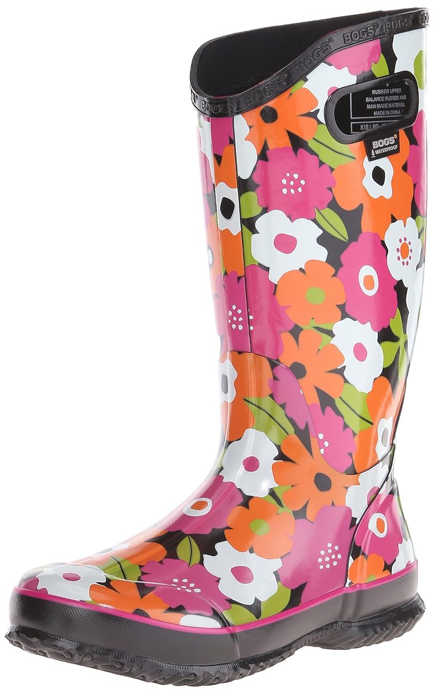 237decfe718 Amazon.com | Bogs Women's RAIN Boot Spring Flowers | Mid-Calf