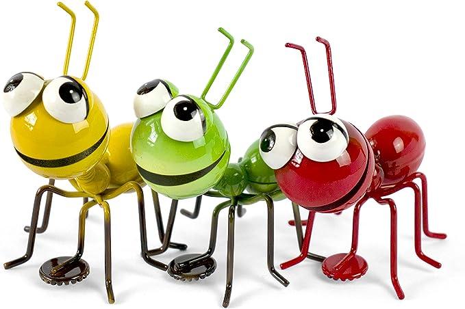 IMANES 3D Divertido 3 hormigas Nevera Memo Holder Cocina Refrigerador Juego de regalo Escritorio de oficina Alivio del estrés Juguetes Jardín Ornamento Decoración Hogar Colgante magnético Decoración: Amazon.es: Hogar