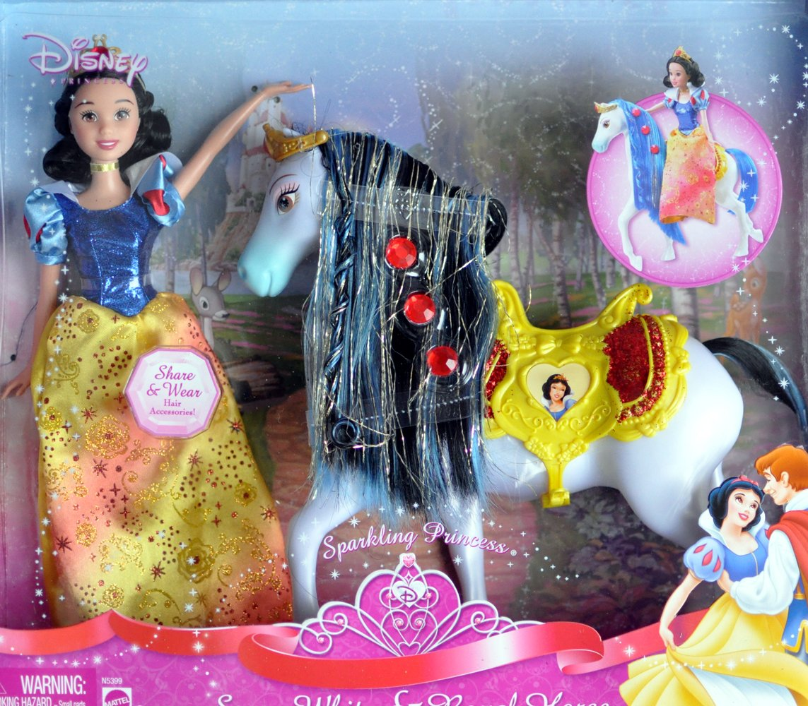 Disney Princess Snow White and Royal Horse Gift Set by Disney