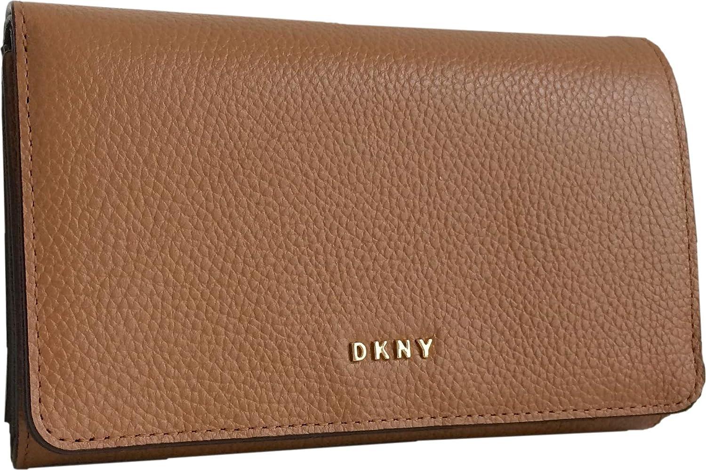 DKNY - Bolso Bandolera Mujer Marrón marrón Medium: Amazon.es ...