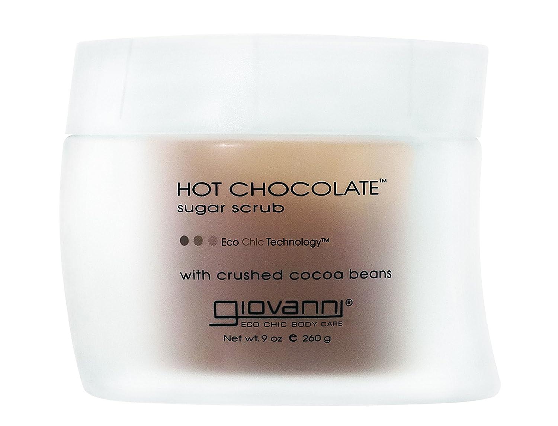 GIOVANNI Hot Chocolate Sugar Body Scrub 9 OZ, 2 Pack