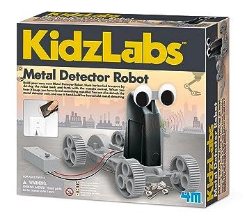 4 M Detector de Metal Robot