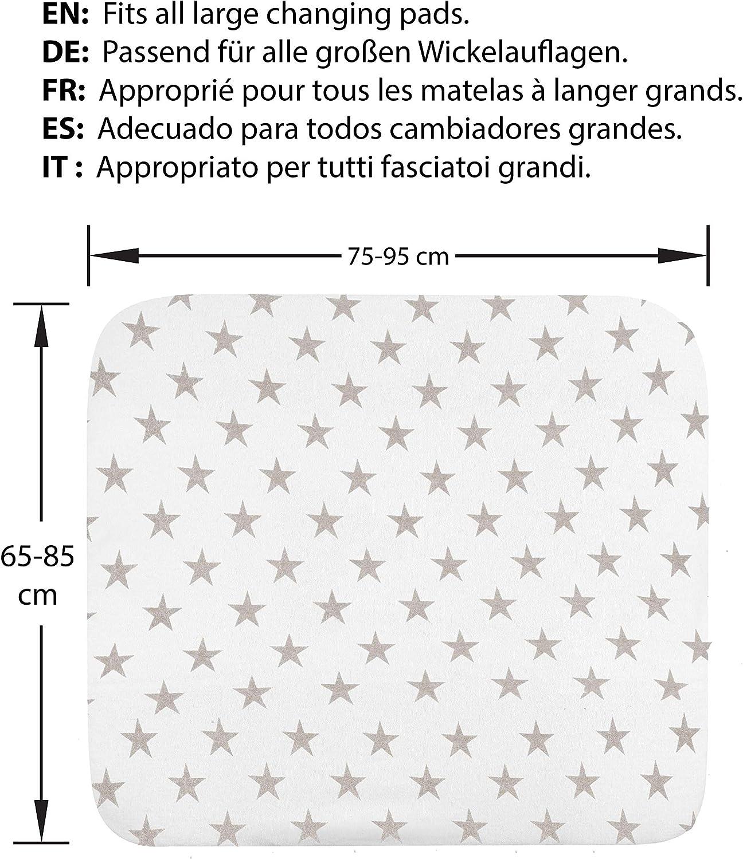/Épais et Absorbant Tissu Coton /Éponge B/éb/é Gar/çon Housse pour Matelas /à Langer Lot de 2 3 Formats