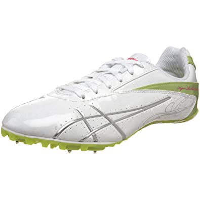 ASICS Women's Hyper-Rocketgirl SP 4 Track And Field Shoe,White/Lightning/