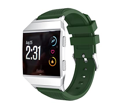 Amazon.com: Watch Bands for Fitbit Ionic, MoreToys Silicone ...
